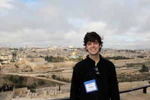 Lucas in Jerusalem, Jan '11